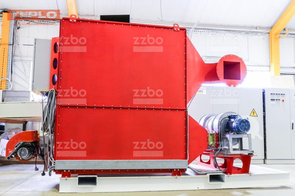 Газовый теплогенератор ТГВ-450 на раме - фото 29