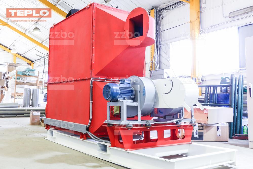 Газовый теплогенератор ТГВ-450 на раме - фото 28