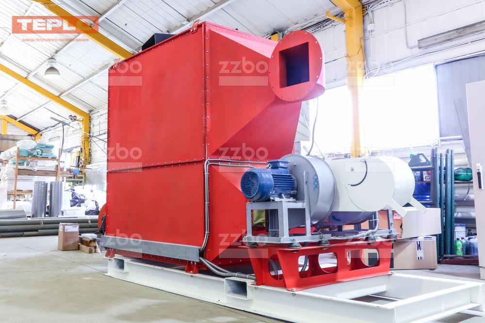 Газовый теплогенератор ТГВ-450 на раме - фото 27