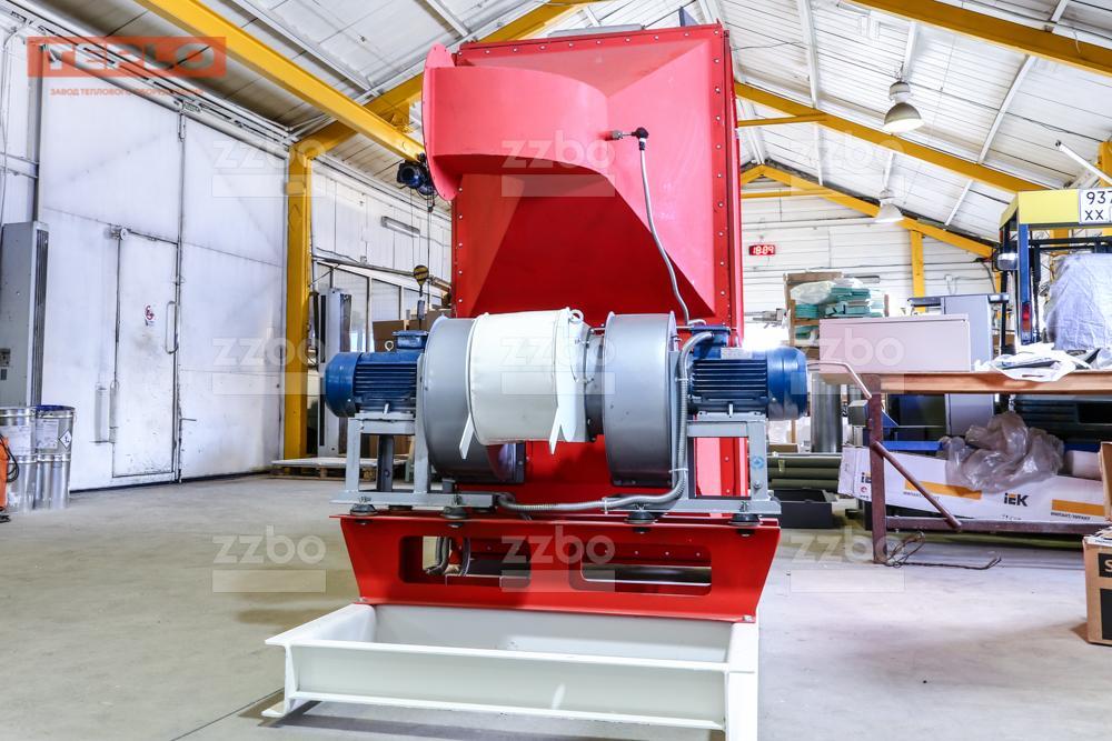 Газовый теплогенератор ТГВ-450 на раме - фото 26