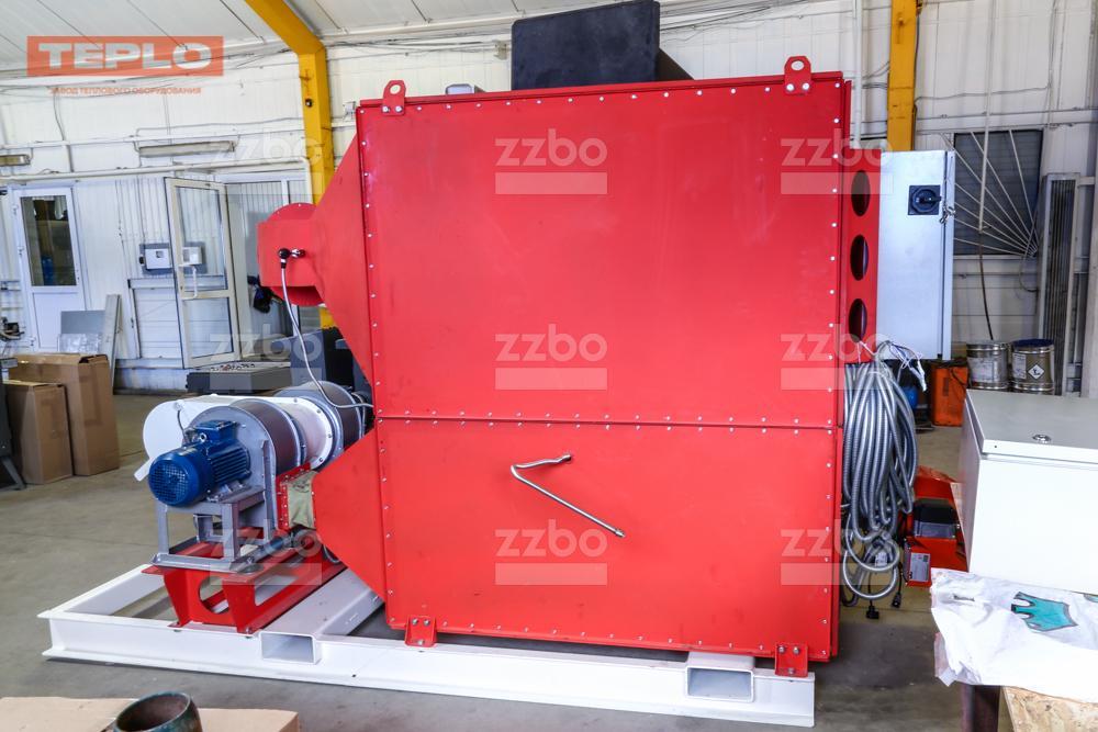 Газовый теплогенератор ТГВ-450 на раме - фото 24