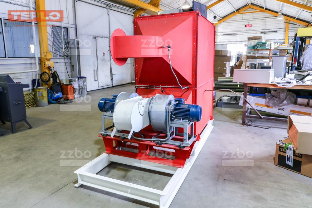 Газовый теплогенератор ТГВ-450 на раме - фото 23