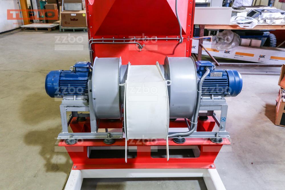 Газовый теплогенератор ТГВ-450 на раме - фото 22