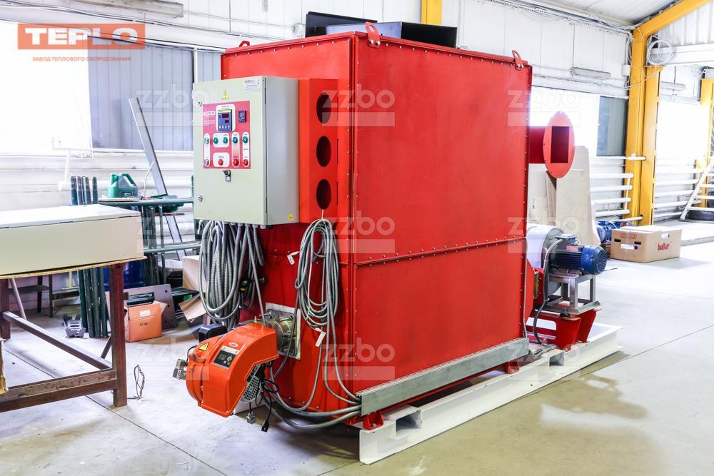 Газовый теплогенератор ТГВ-450 на раме - фото 21