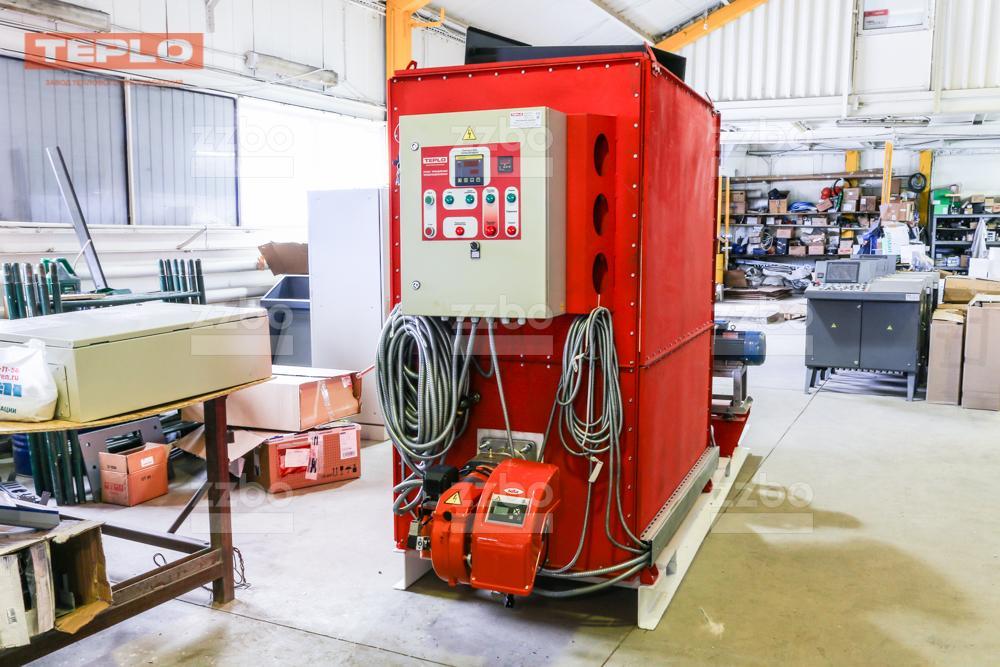 Газовый теплогенератор ТГВ-450 на раме - фото 20