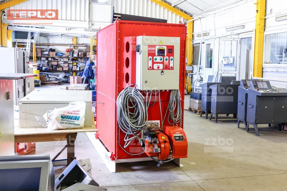 Газовый теплогенератор ТГВ-450 на раме - фото 18