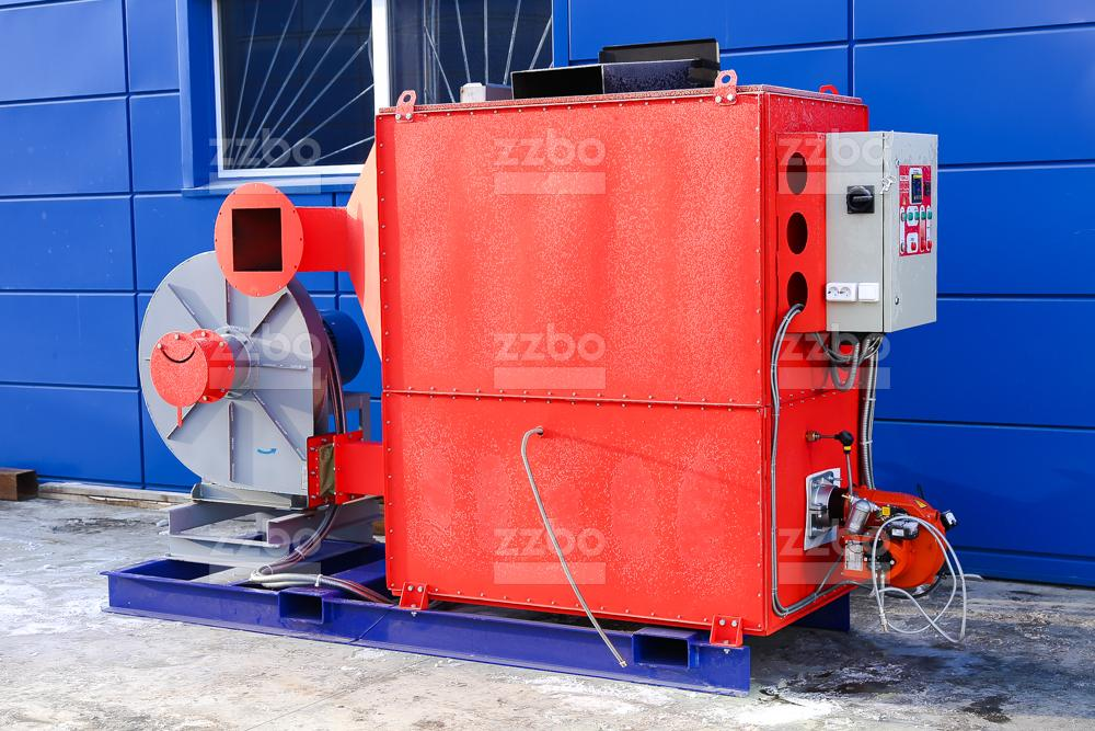 Газовый теплогенератор ТГВ-250 на раме - фото 1