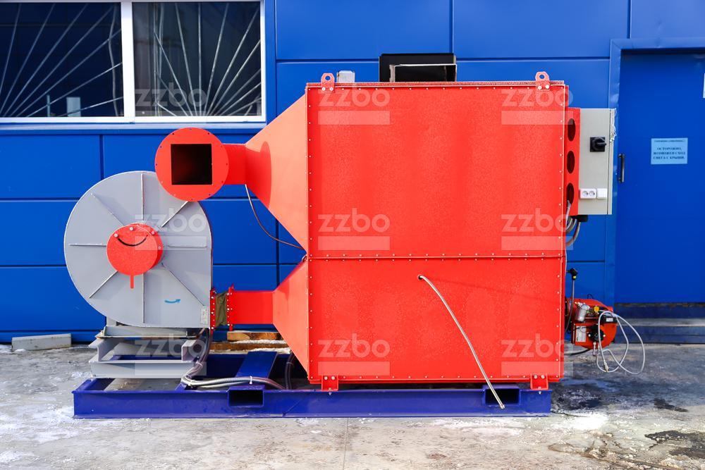 Газовый теплогенератор ТГВ-450 на раме - фото 16