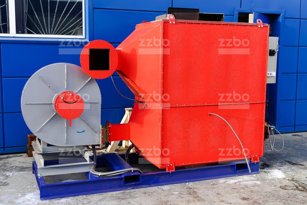 Газовый теплогенератор ТГВ-250 на раме - фото 7