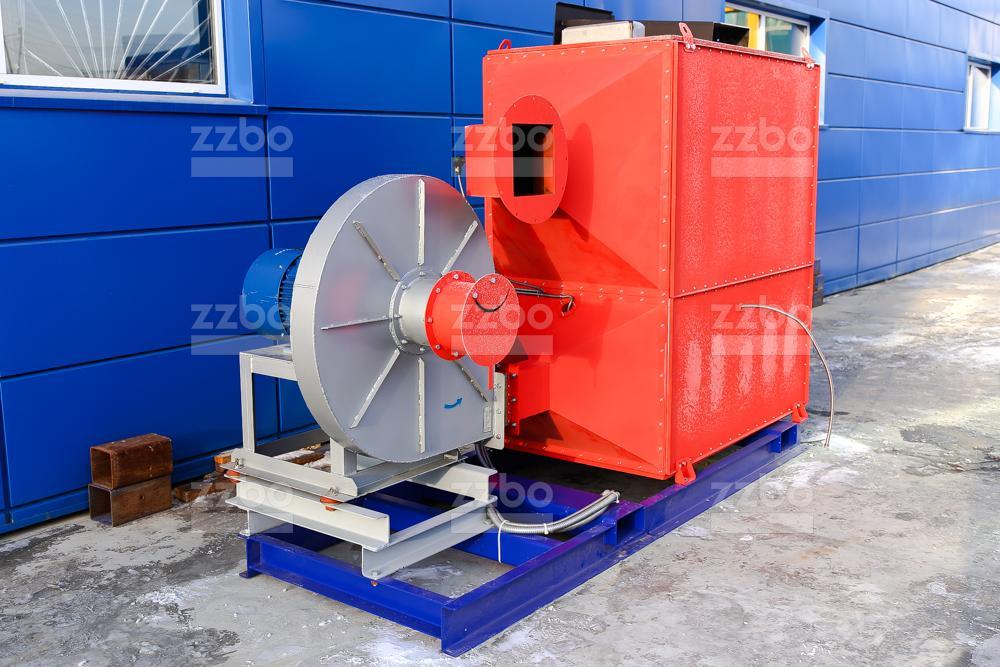 Газовый теплогенератор ТГВ-450 на раме - фото 15