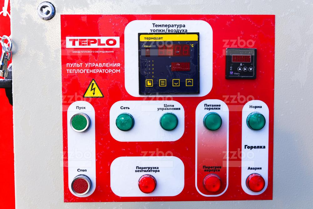 Газовый теплогенератор ТГВ-250 на раме - фото 2