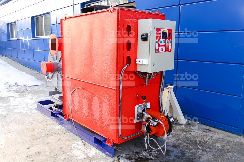 Газовый теплогенератор ТГВ-450 на раме - фото 12