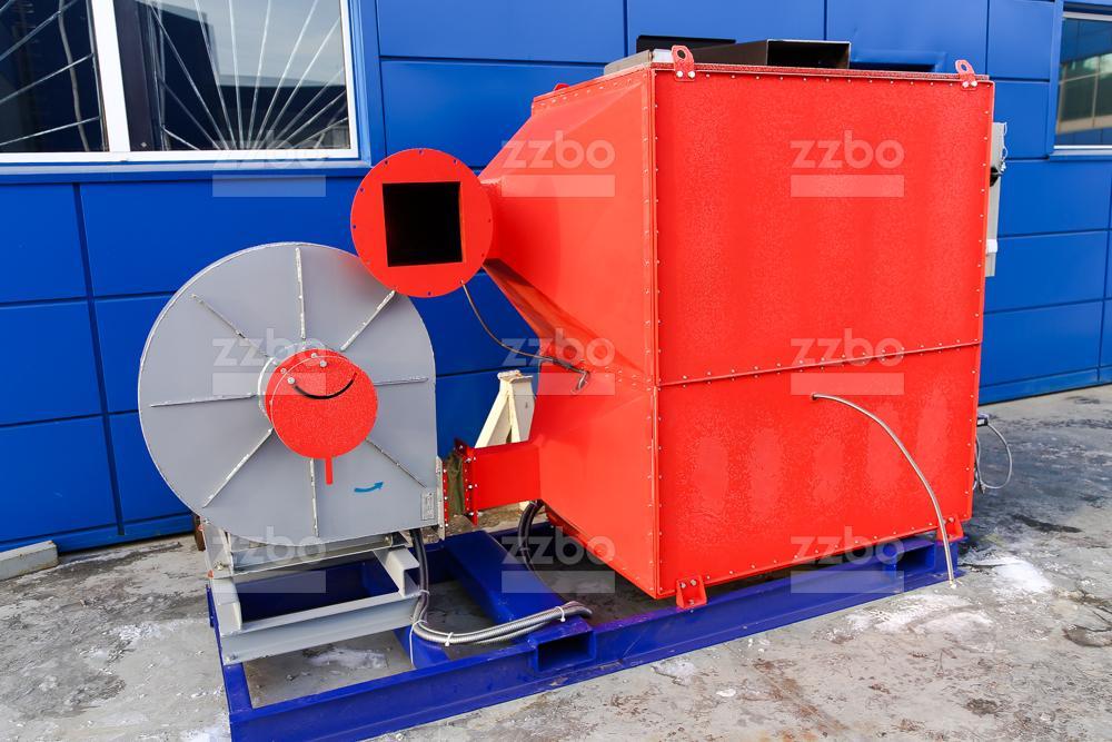 Газовый теплогенератор ТГВ-250 на раме - фото 5
