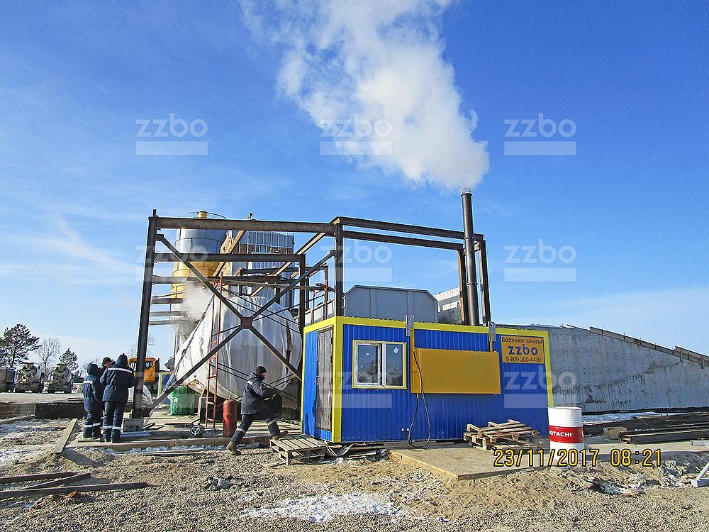 Газовый парогенератор ПГ-1000 в блок-контейнере - фото 8