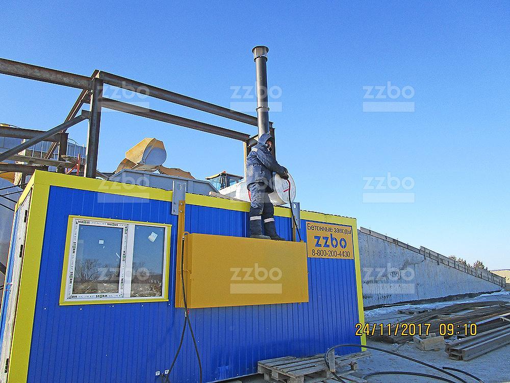 Газовый парогенератор ПГ-1000 в блок-контейнере - фото 29