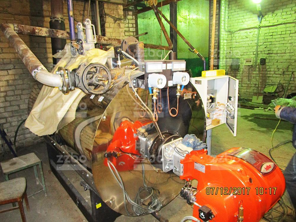 Газовый парогенератор ПГ-1000 на раме - фото 1