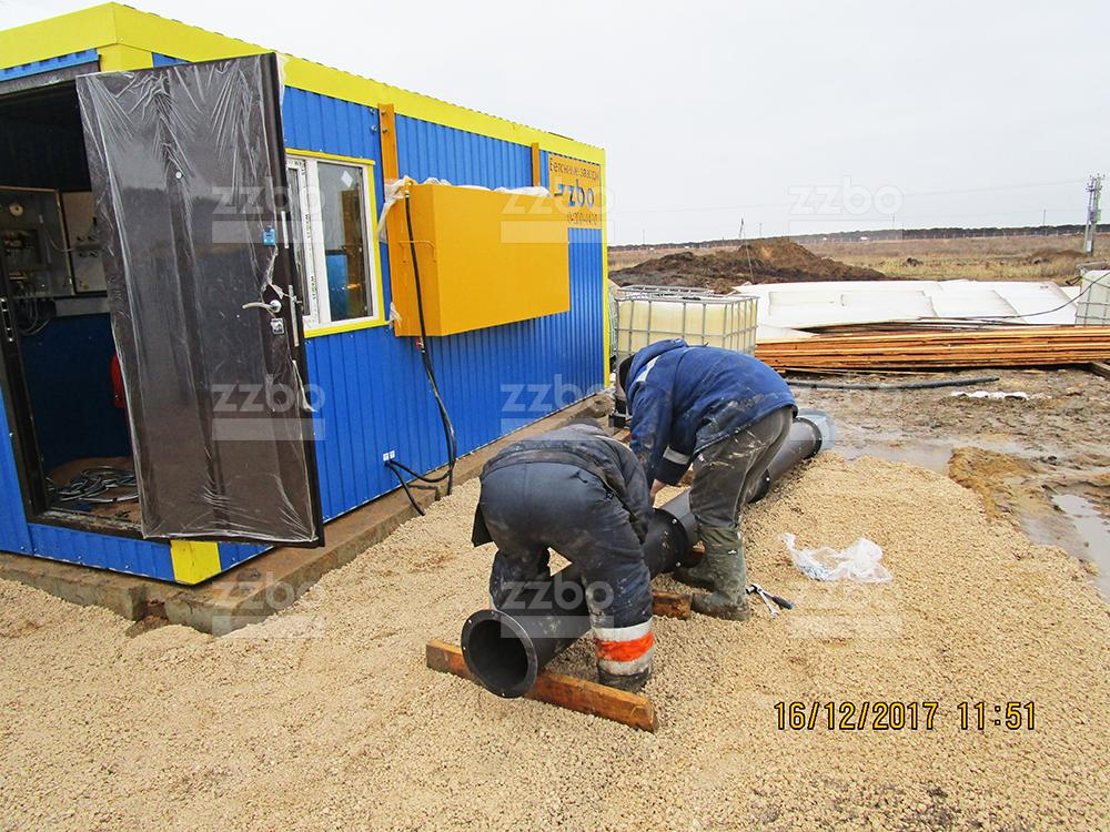 Газовый парогенератор ПГ-1000 в блок-контейнере - фото 31
