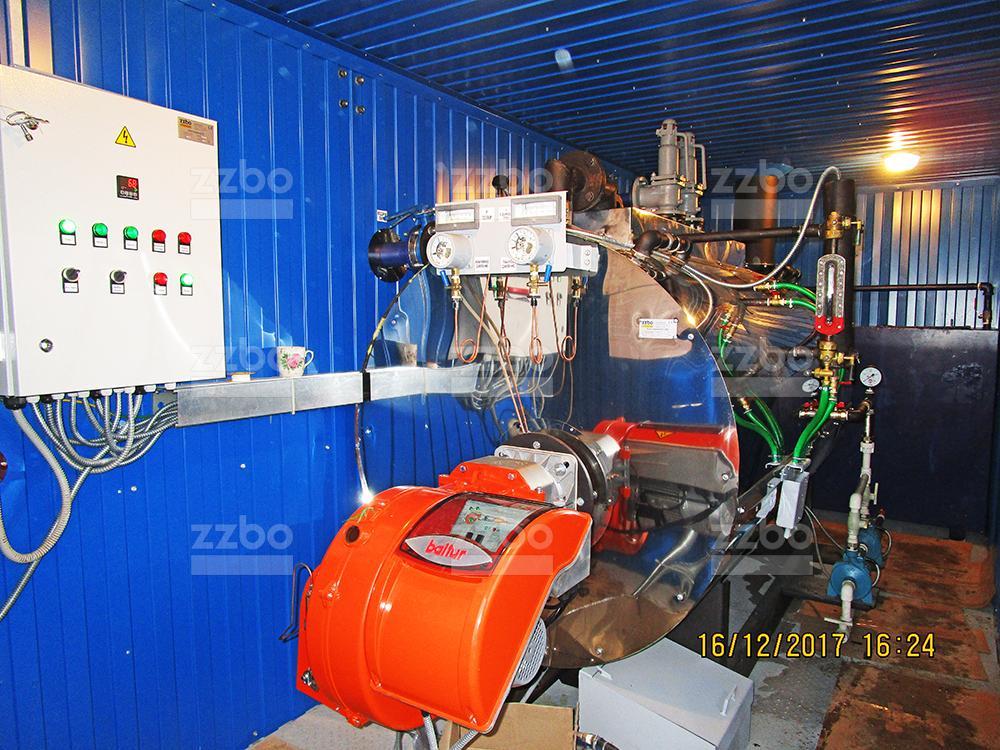 Газовый парогенератор ПГ-1000 на раме - фото 4