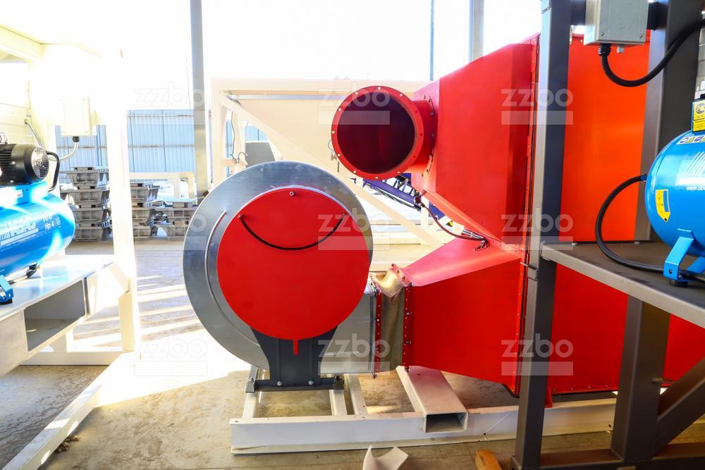 Газовый теплогенератор ТГВ-450 на раме - фото 9