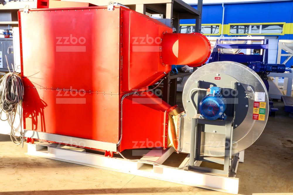 Газовый теплогенератор ТГВ-450 на раме - фото 8