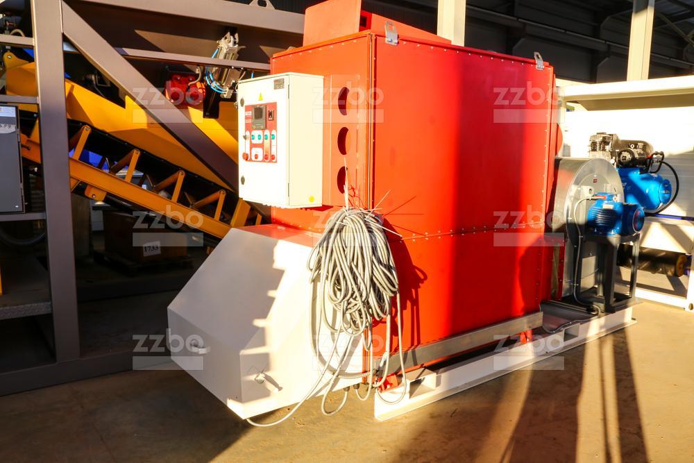 Газовый теплогенератор ТГВ-450 на раме - фото 7