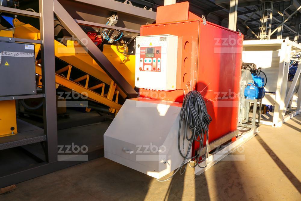 Газовый теплогенератор ТГВ-450 на раме - фото 6