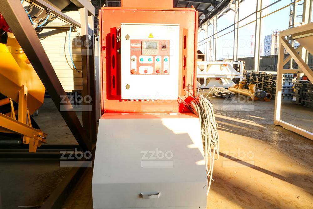 Газовый теплогенератор ТГВ-450 на раме - фото 5