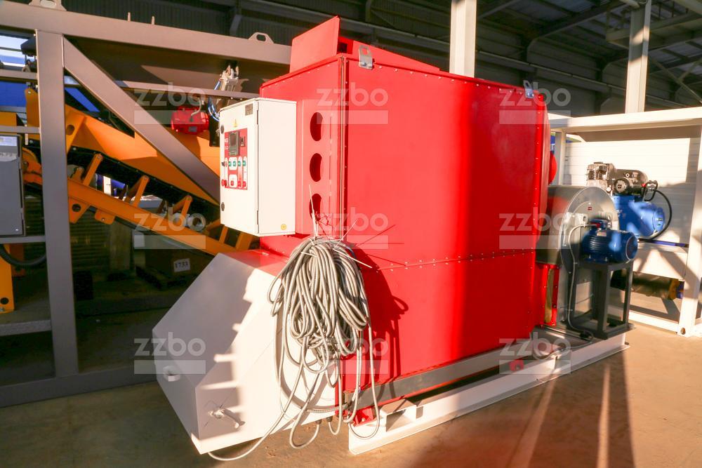 Газовый теплогенератор ТГВ-450 на раме - фото 2