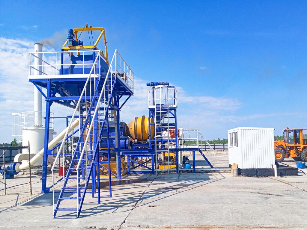 Мобильный асфальтовый завод МАЗ-20 - фото 1