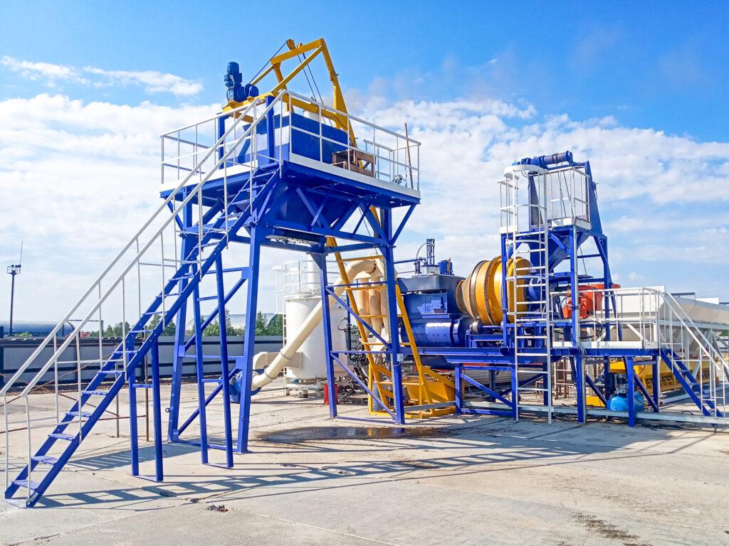 Мобильный асфальтовый завод МАЗ-20 - фото 2