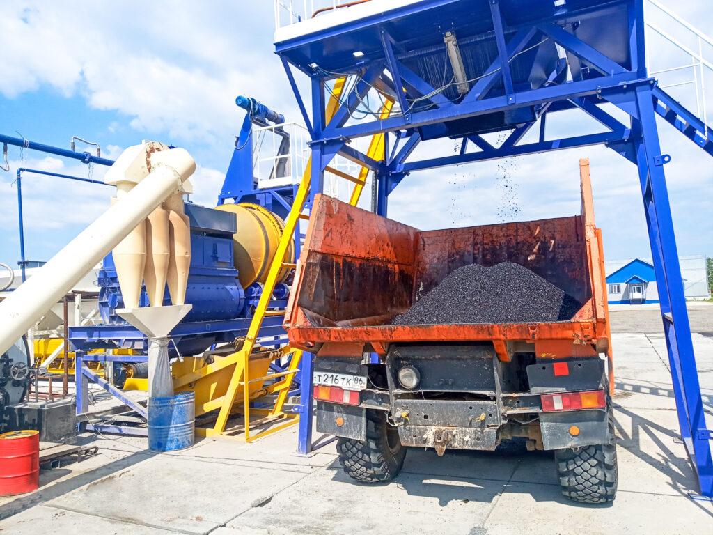 Мобильный асфальтовый завод МАЗ-20 - фото 8