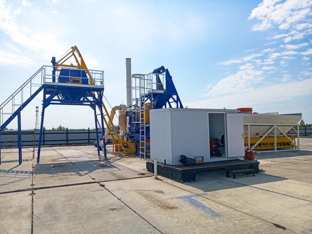 Мобильный асфальтовый завод МАЗ-20 - фото 5
