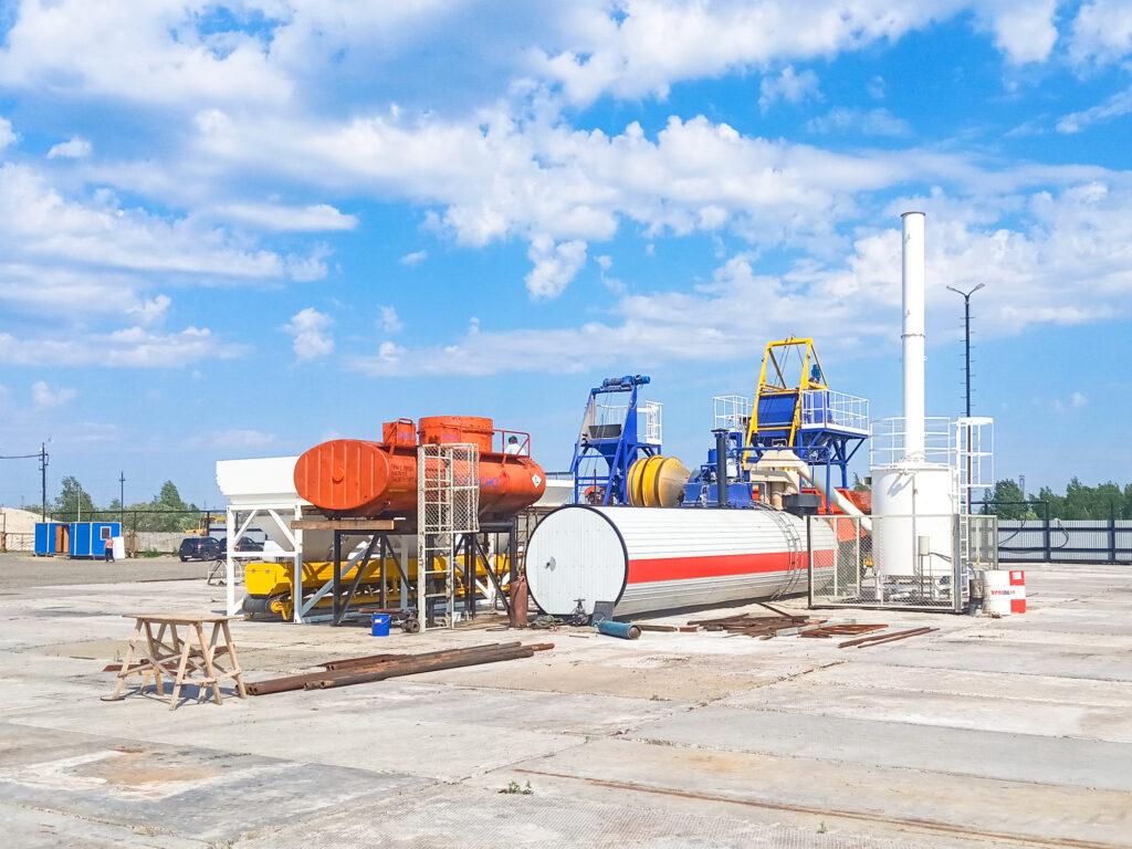 Мобильный асфальтовый завод МАЗ-20 - фото 6