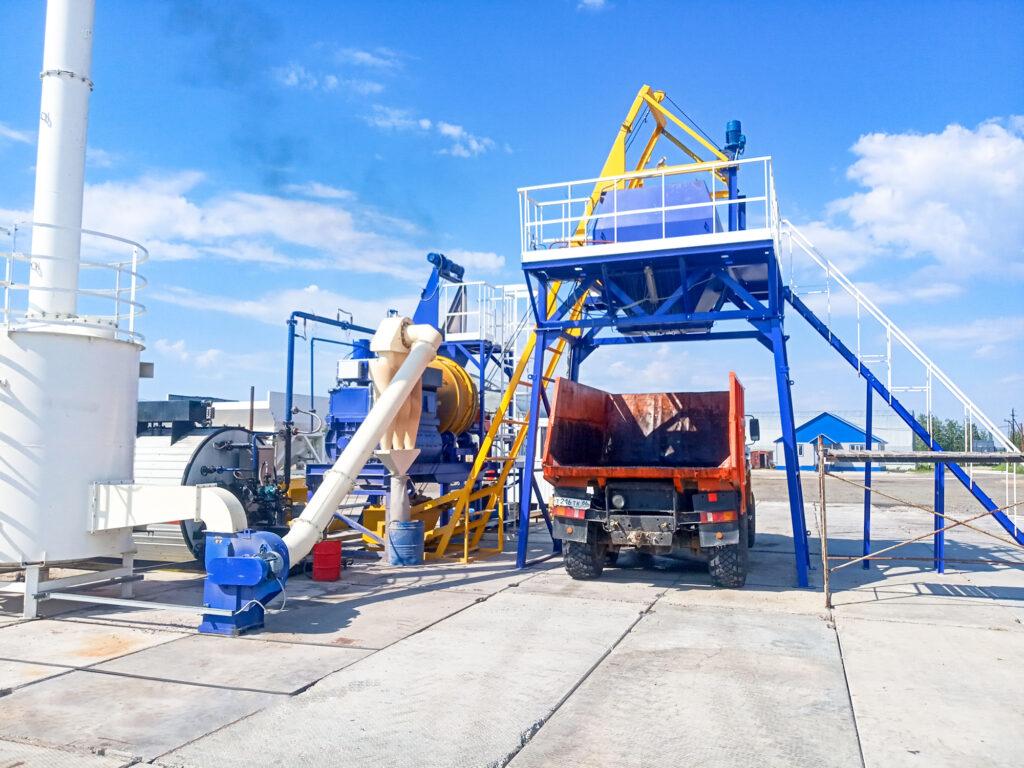 Мобильный асфальтовый завод МАЗ-20 - фото 3