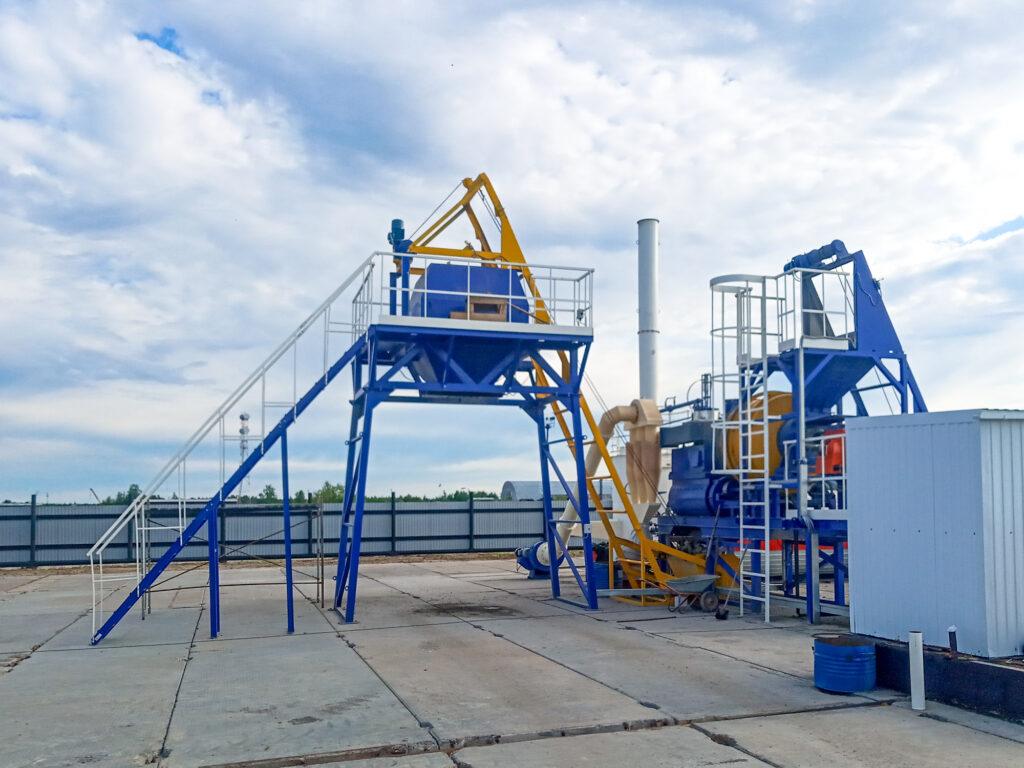 Мобильный асфальтовый завод МАЗ-20 - фото 4