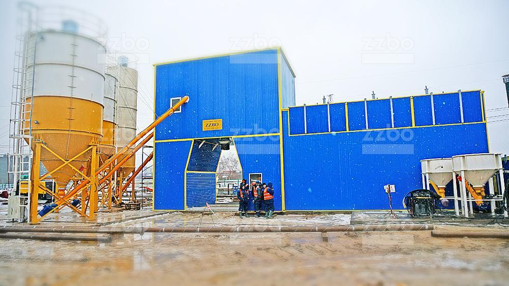 Бетонный завод ФЛАГМАН-90 - фото 1