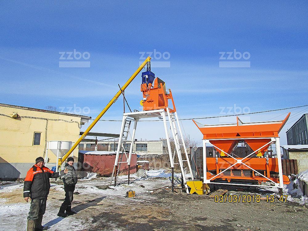 Бетонный завод СТАНДАРТ-15 - фото 10