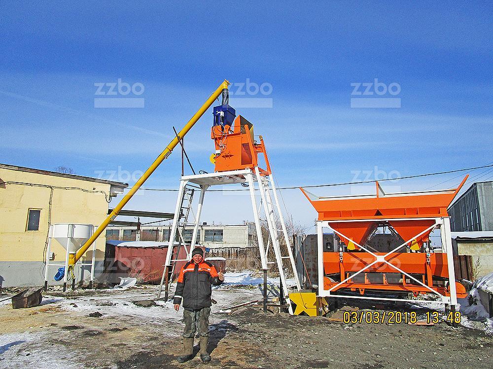 Бетонный завод СТАНДАРТ-15 - фото 9