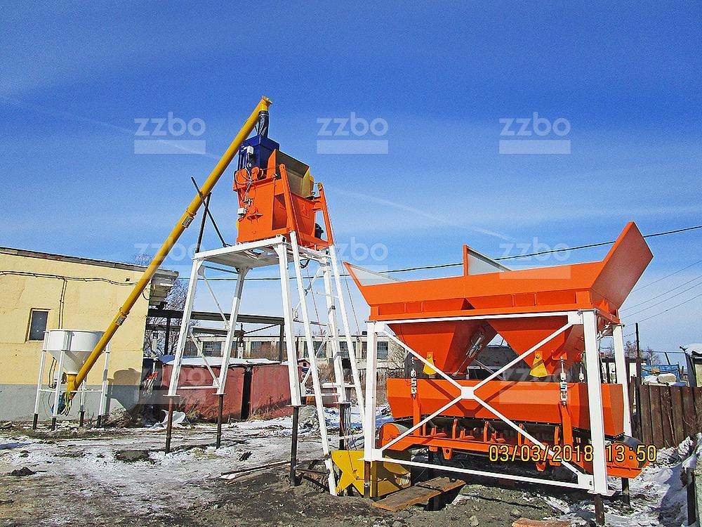 Бетонный завод ЭКОНОМ-15 - фото 1
