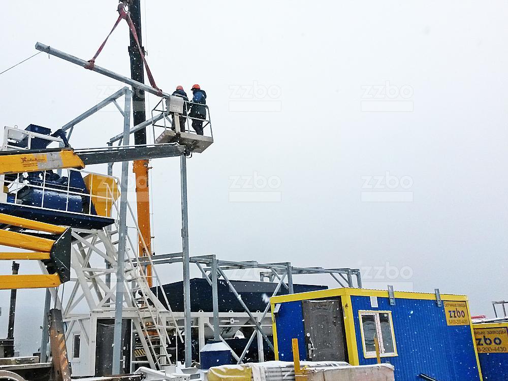 Шеф-монтаж утепления бетонных заводов