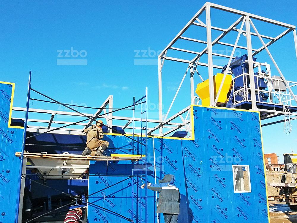 Шеф-монтаж утепления бетонных заводов - фото 1