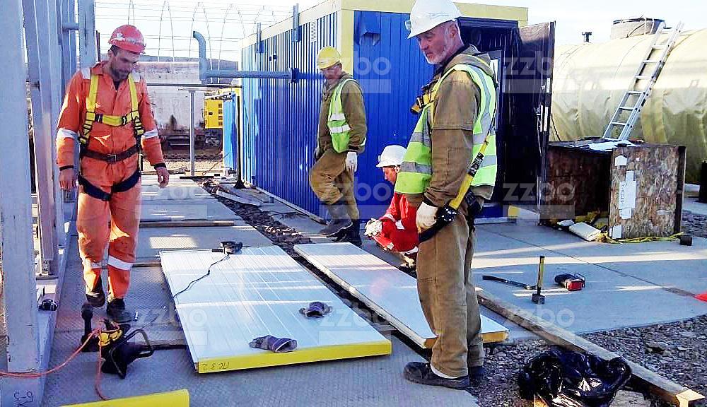 Шеф-монтаж утепления бетонных заводов - фото 10