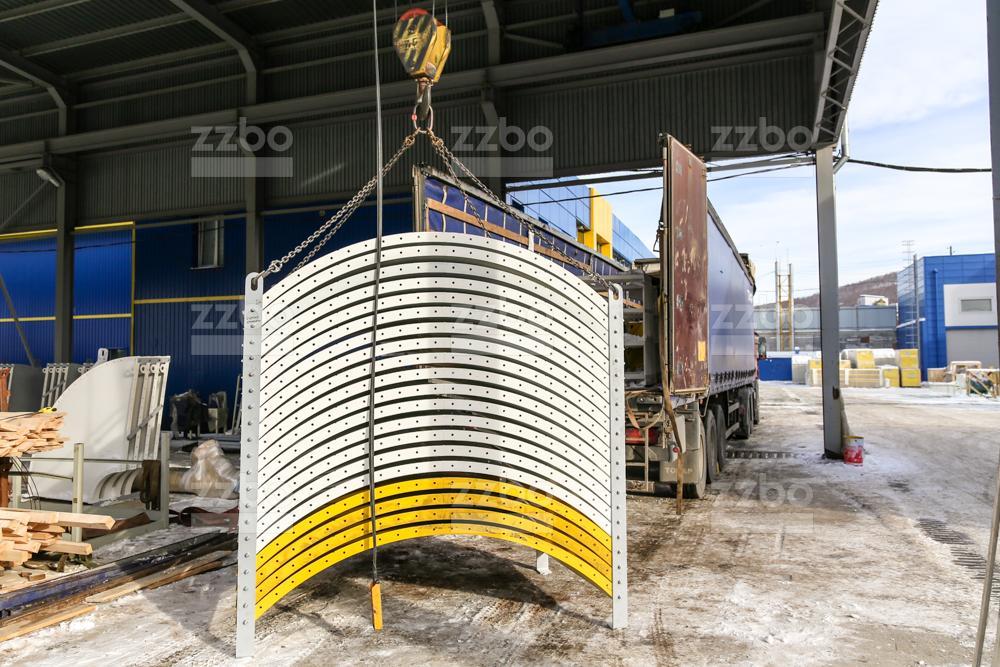Цилиндрический сектор для силоса СЦМ - фото 1