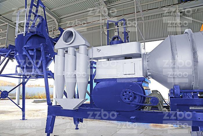 Система очистки асфальтобетонной установки