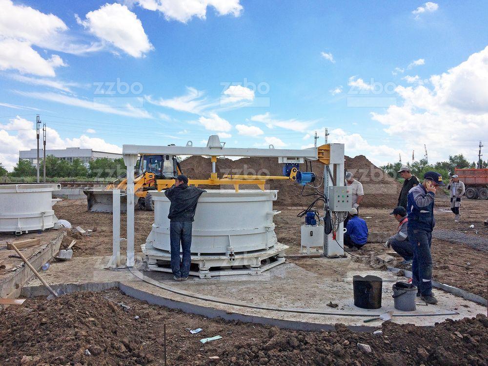Вибропресс КС15 с бетоноукладчиком - фото 2