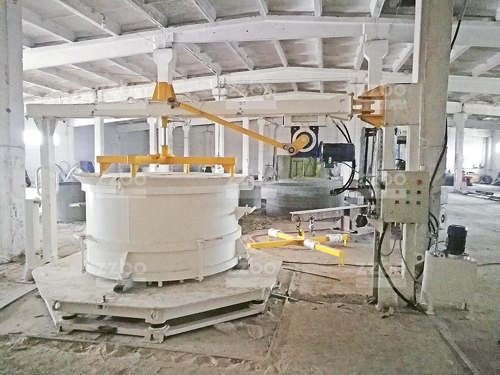 Вибропресс КС15 с бетоноукладчиком - фото 5