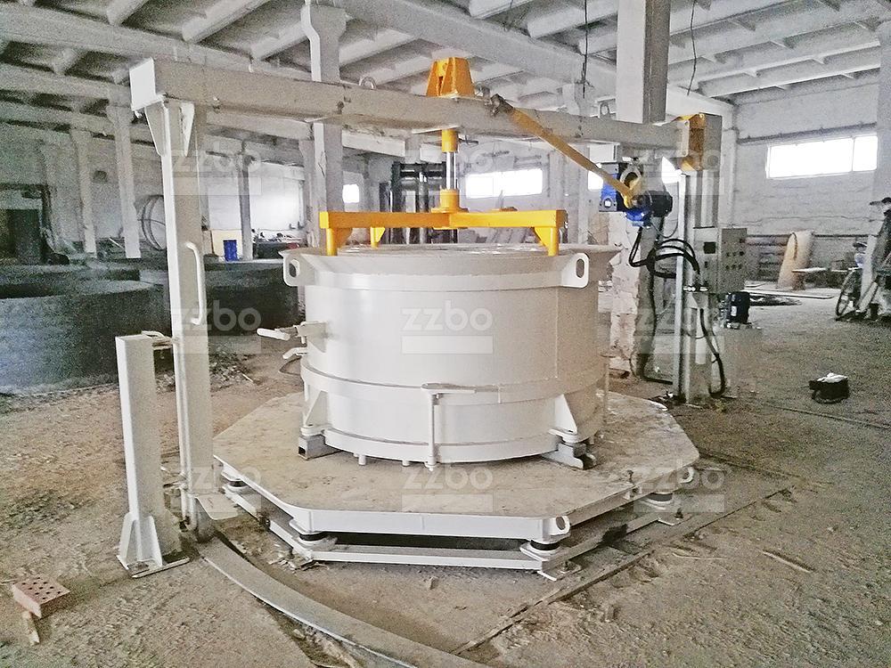 Вибропресс КС15 с бетоноукладчиком - фото 3
