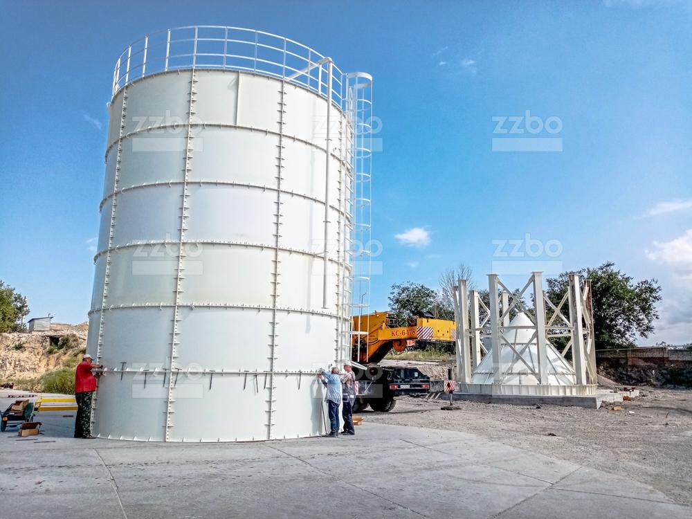 Силос цемента СПУ-920 - фото 3