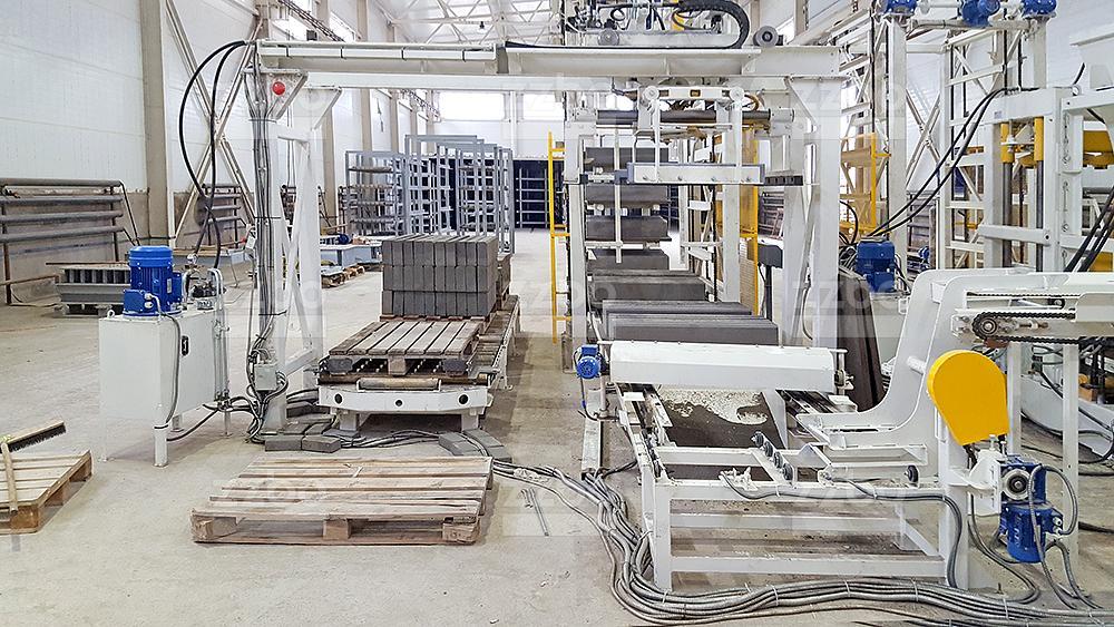 Автоматическая линия МАКСИМАЛ <br> на гидроподъемниках - фото 16