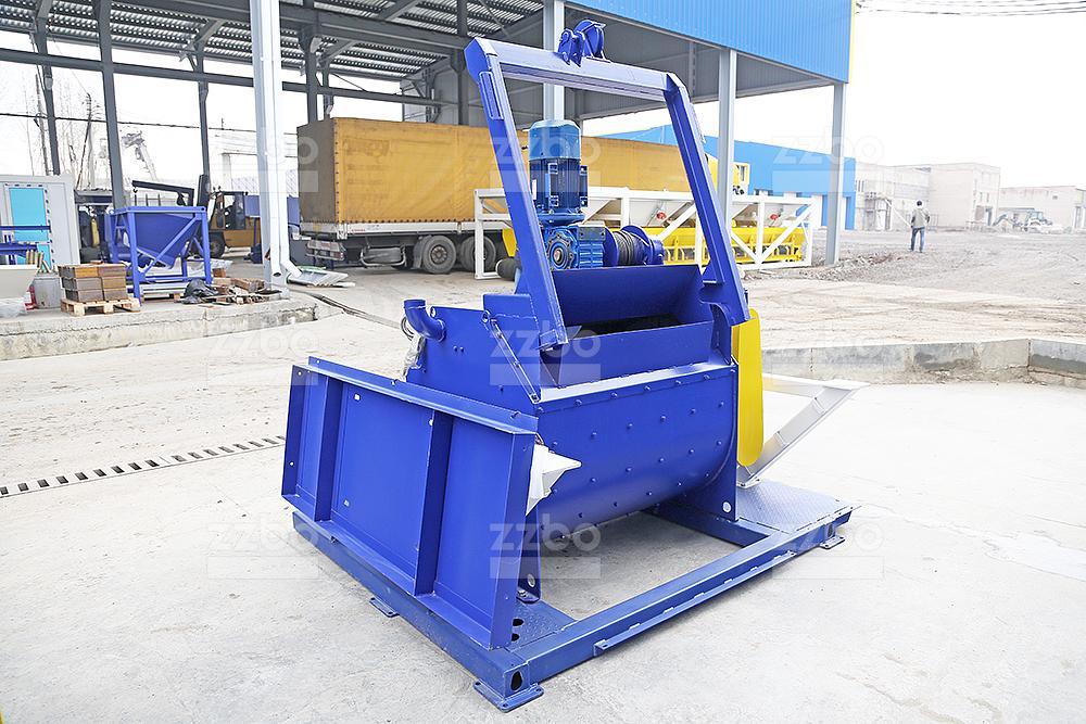 Одновальный бетоносмеситель БП-1Г-500с - фото 11